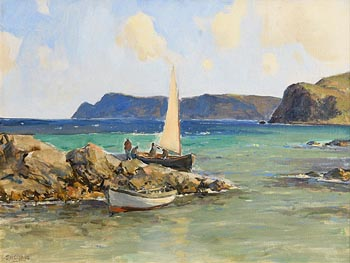 James Humbert Craig, Cushendun, Co. Antrim (1933) at Morgan O'Driscoll Art Auctions