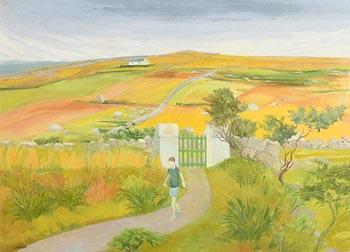 Barbara Warren, Boy in the Garden (2001) at Morgan O'Driscoll Art Auctions