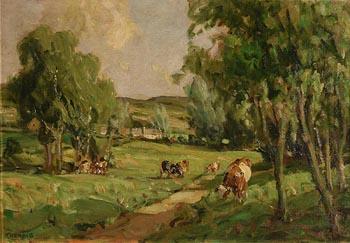 James Humbert Craig, Summer Day near Clough, Co. Antrim at Morgan O'Driscoll Art Auctions