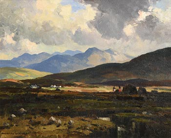 Maurice Canning Wilks, Kerry Bogland, Co. Kerry at Morgan O'Driscoll Art Auctions