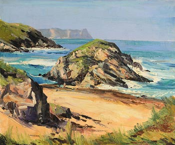 Kenneth Webb, Tramore at Morgan O'Driscoll Art Auctions