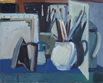 Brian Ballard, Paint Brushes and Iron (1997) at Morgan O'Driscoll Art Auctions