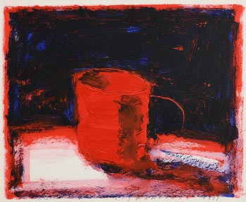 Neil Shawcross, Still Life with Coffee Mug (1999) at Morgan O'Driscoll Art Auctions