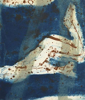 Hughie O'Donoghue, Immersion (Diving Series) at Morgan O'Driscoll Art Auctions