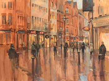Laura Cronin, Grafton Street, Dublin at Morgan O'Driscoll Art Auctions