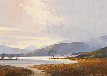 Denis J. McDowell, Early Morn, Upper Lake, Killarney at Morgan O'Driscoll Art Auctions