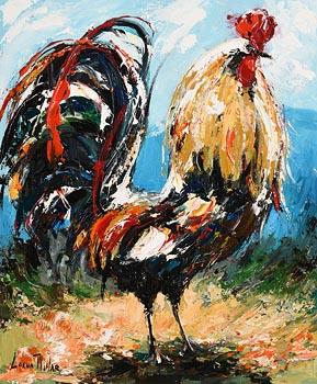 Lorna Millar, Cockerel at Morgan O'Driscoll Art Auctions