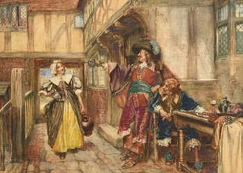 Arthur David McCormick, The Tavern at Morgan O'Driscoll Art Auctions