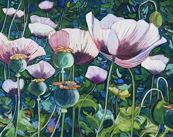 Victor Richardson, Poppy (2002) at Morgan O'Driscoll Art Auctions