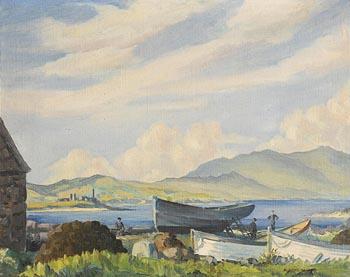 Desmond Kenny, Ballinskelligs at Morgan O'Driscoll Art Auctions