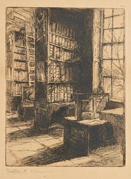 Estella Frances Solomons, Trinity Library at Morgan O'Driscoll Art Auctions