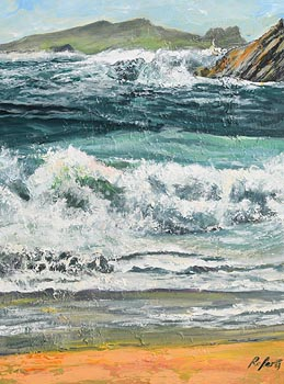 Dorothee Roberts, Inishtooskert, Blasket Island, Co Kerry at Morgan O'Driscoll Art Auctions