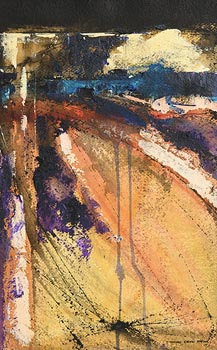 Denis Orme Shaw, Landscape at Morgan O'Driscoll Art Auctions