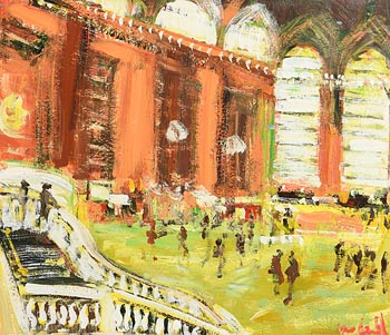 Marie Carroll, Grand Central Terminal (2000) at Morgan O'Driscoll Art Auctions