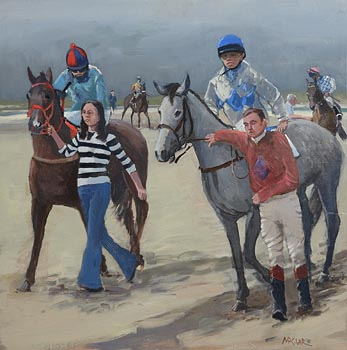 Cecil Maguire, Omey Races at Morgan O'Driscoll Art Auctions