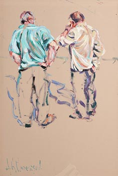 Arthur K. Maderson, Two Old Boys (Tallow Horse Fair) at Morgan O'Driscoll Art Auctions