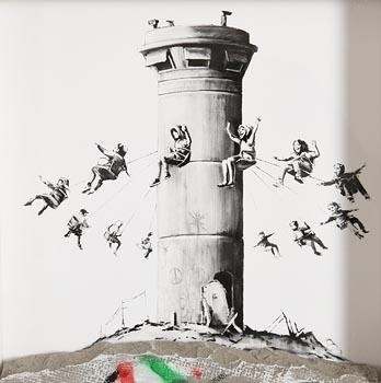 Banksy, Banksy Walled Off Hotel box set print (2017) at Morgan O'Driscoll Art Auctions