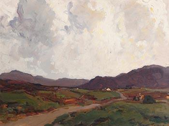 James Humbert Craig, Blue Hills of Antrim at Morgan O'Driscoll Art Auctions