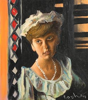 Mark (Rasher) Kavanagh, Flower Girl (1998) at Morgan O'Driscoll Art Auctions