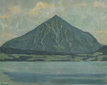 Grace Henry, Croagh Patrick at Morgan O'Driscoll Art Auctions