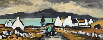 Pat Murphy, Coast Road, Rathmullan, Donegal at Morgan O'Driscoll Art Auctions