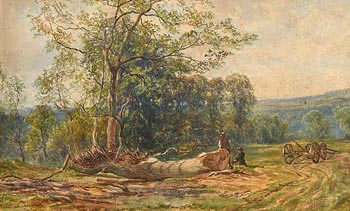 John Faulkner, Felling Oaks at Morgan O'Driscoll Art Auctions