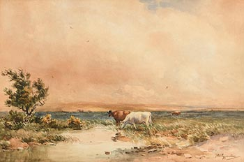 Wycliffe Egginton, On the Marshes at Morgan O'Driscoll Art Auctions