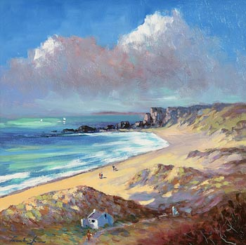 William Cunningham, White Park Bay, Co. Antrim at Morgan O'Driscoll Art Auctions