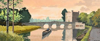 John Francis Skelton, White's Castle, Athy, Kildare at Morgan O'Driscoll Art Auctions