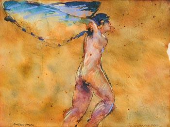 Charles Harper, Guardian Angel (2000) at Morgan O'Driscoll Art Auctions