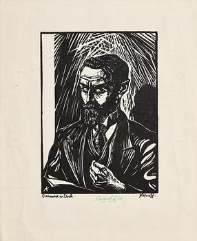 Harry Aaron Kernoff, Casement in Dock (1966) at Morgan O'Driscoll Art Auctions