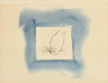 Louis Le Brocquy, Peace Dove at Morgan O'Driscoll Art Auctions