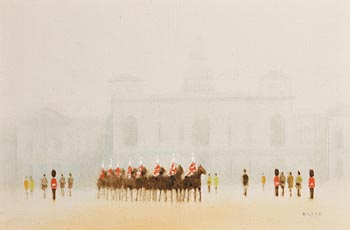Anthony Robert Klitz, Horse Guards and Buckingham Palace at Morgan O'Driscoll Art Auctions