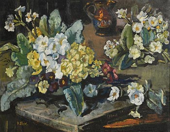 Kathleen Fox, Still Life at Morgan O'Driscoll Art Auctions