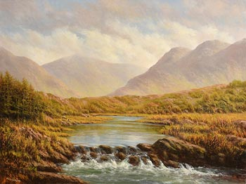 Gerard Marjoram, Delphi, Connemara at Morgan O'Driscoll Art Auctions