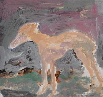 Basil Blackshaw, The Greyhound at Morgan O'Driscoll Art Auctions