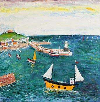 Simeon Stafford, St Ives at Morgan O'Driscoll Art Auctions