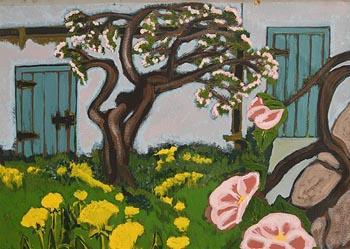 Rachel Strong, The Artist's Garden at Morgan O'Driscoll Art Auctions