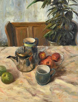 Henry McGrane, Still Life with Teapot at Morgan O'Driscoll Art Auctions