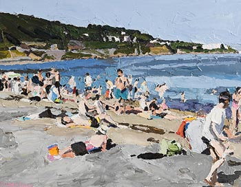 Stephen Cullen, Sandycove at Morgan O'Driscoll Art Auctions