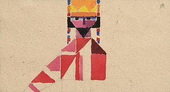 Colin Middleton, The King's Eyes at Morgan O'Driscoll Art Auctions