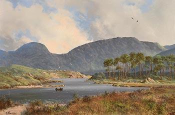 David Anthony Overend, Ballynahinch Lough, Near Recess, Connemara at Morgan O'Driscoll Art Auctions