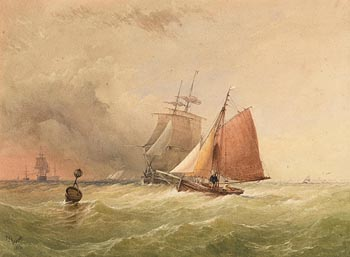 Thomas Sewell Robins, Approaching Altercation at Morgan O'Driscoll Art Auctions