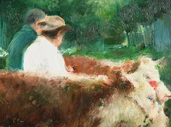 Paul Kelly, Herding the Cattle at Morgan O'Driscoll Art Auctions