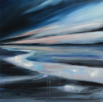 Paula McKinney, Tide's Out Carrigart, Co. Donegal at Morgan O'Driscoll Art Auctions