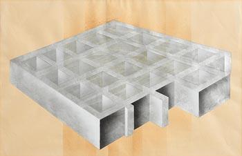 Brian King, Geometric Shapes 1973 at Morgan O'Driscoll Art Auctions