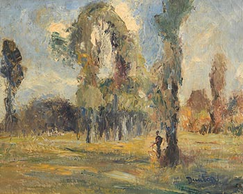Ronald Ossory Dunlop, Figures in the Shade of a Tree at Morgan O'Driscoll Art Auctions