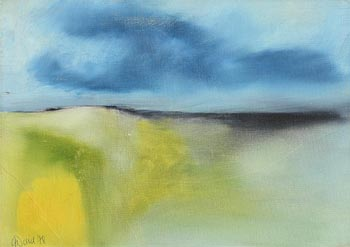 Gerald Davis, Blue Skies (1978) at Morgan O'Driscoll Art Auctions