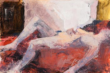 Donald Teskey, Reclining Nude (2003) at Morgan O'Driscoll Art Auctions