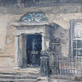 Aidan Bradley (b.1961), House Merrion Square (2007) at Morgan O'Driscoll Art Auctions